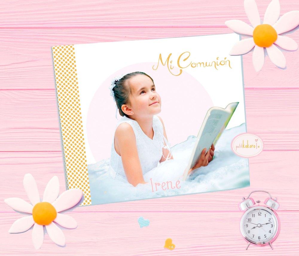 album de comunion niña modelo foto Petitkokoro