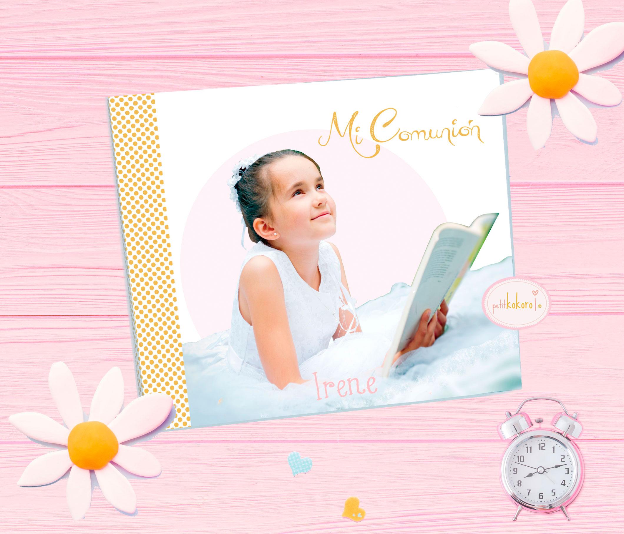 Álbum de comunión niña modelo Irene foto