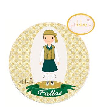 chapa-fallero-traje-verde