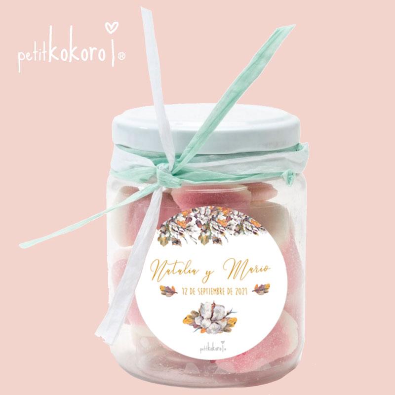 etiqueta-adhesiva-regalo-boda-modelo-bellota-comunión-bautizo-Petitkokoro