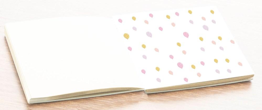 hoja álbum comunión libro firmas fotos niña petitkokoro 15