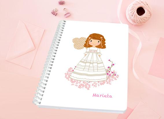 libreta regalo comunión niña Petit Kokoro