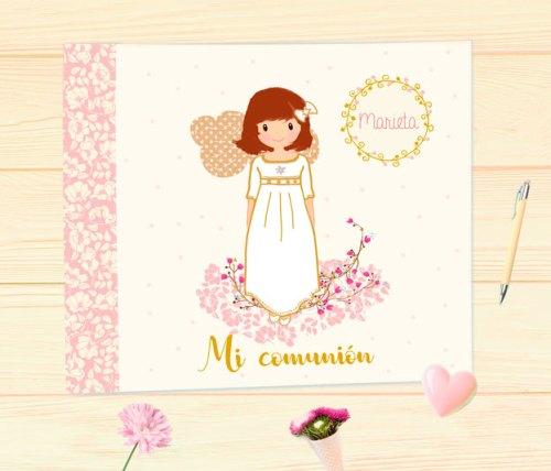 Libro de Firmas comunión niña modelo Marieta