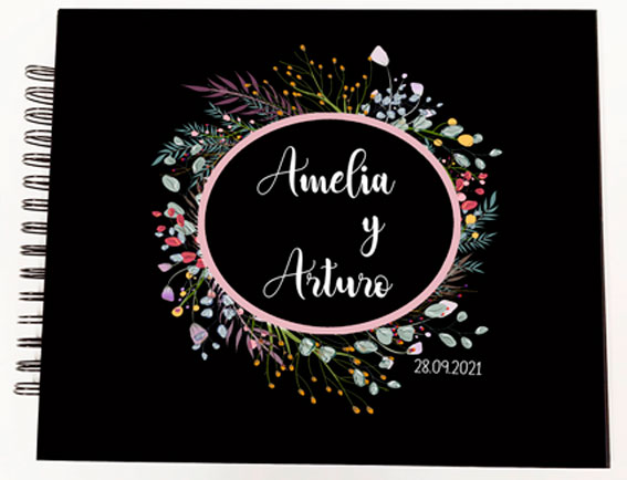 Libro de firmas álbum de fotos boda Petitkokoro modelo Amelia