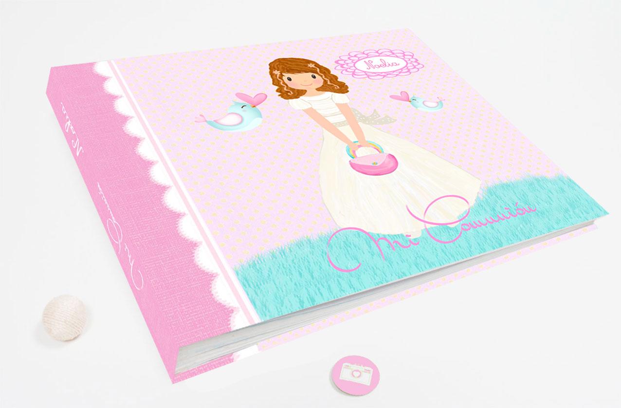 Libro Firmas comunión niña modelo Noelia