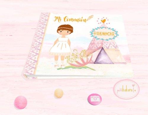 libro-de-firmas-comunión-modelo-Patricia-india