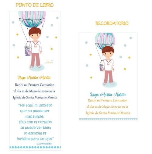 punto-de-libro-comunion-niño-modelo-Hugo globo