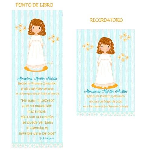 punto-de-libro-y-recordatorio-comunion-niña-modelo-Almudena