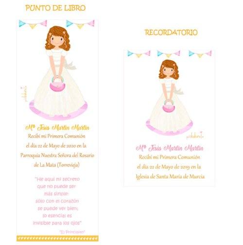 punto-de-libro-y-recordatorio-comunion-niña-modelo-Maria-Jesus