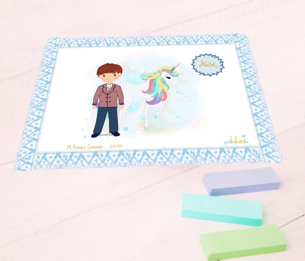 vade-mesa-escritorio-comunión-modelo-unicornio-niño