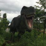かつやまディノパークの感想レビュー【福井県立恐竜博物館の敷地内にできたジェラシックパークみたいな新スポット】