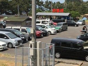 鮎川園地駐車場