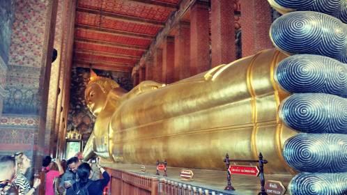 Temple Wat Pho - Bouddha Couché