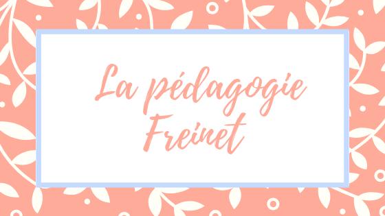 La Pédagogie Freinet: Une Education Coopérative
