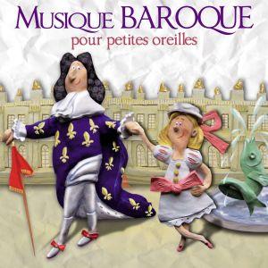 Pochette de Musique baroque pour petites oreilles