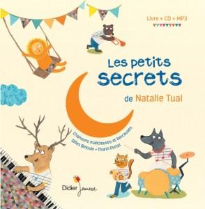 Comptines les petits secrets de Natalie Tual