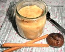 Crème dessert figue-cannelle
