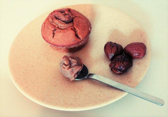 cupcake double marrons