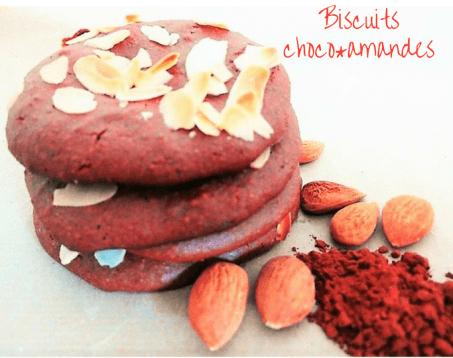 Biscuits choco-amandes