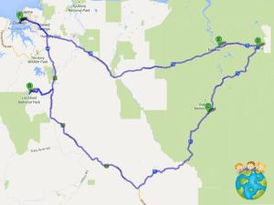 Petits Globetrotteurs - Itinéraire Outback Australie