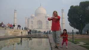 Inde avec enfant 3 ans - Taj Mahal