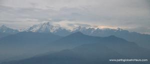 Nagarkot - Vue sur la chaîne de l'Everest