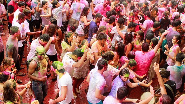 Holi Festival à Singapour