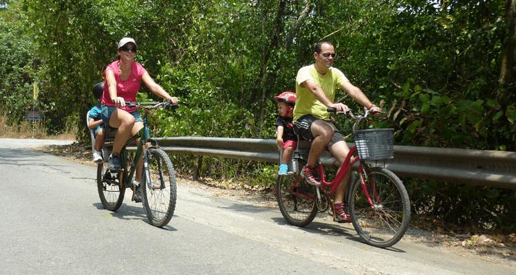 Pulau Ubin avec les enfants