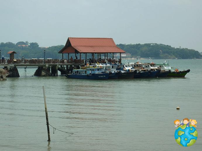 Pulau Ubin - Public jetty