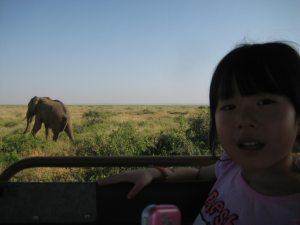 kenya avec enfant