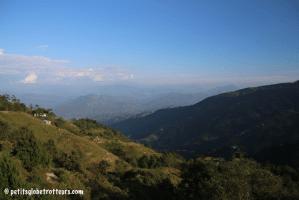 Népal avec les enfants : Nagarkot