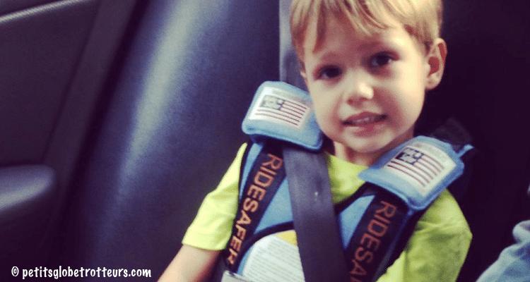 Ridesafer - sécurité voiture enfant