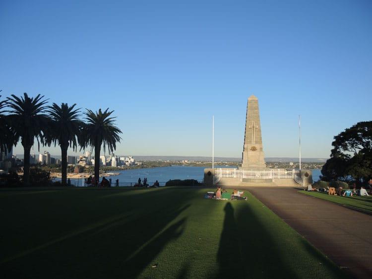 Perth Australie avec enfants
