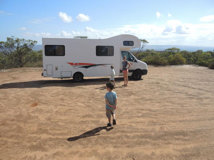 Australie camping car enfants