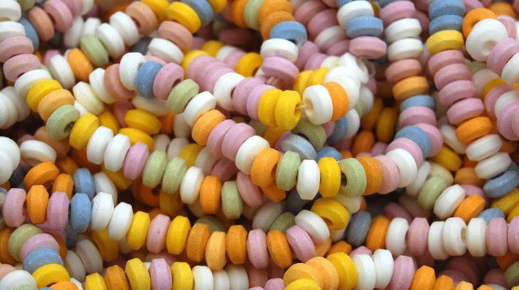Collier de perle pour occuper les enfants de 3-7 ans lors de longs trajets