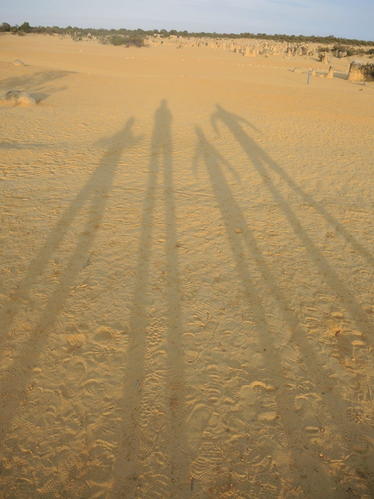 Désert Pinnacles Australie Enfants