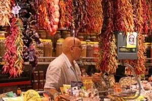 boqueria - barcelone en famille
