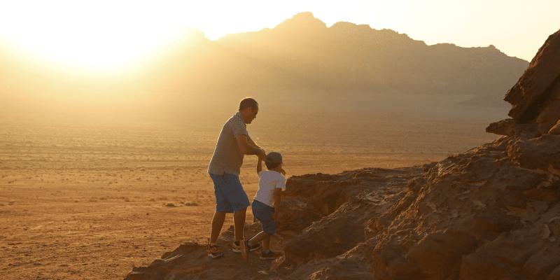 Jordanie en famille : Petits Globetrotteurs