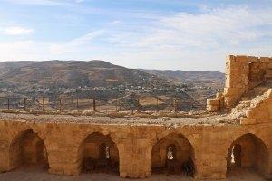 jordanie en famille chateau de Kerak