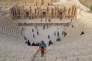 jordanie en famille jerash petits globetrotteurs