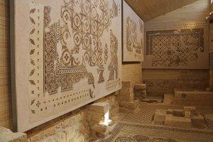 mosaïque mont nebo moïse jordanie en famille