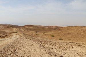 route mer morte jordanie en famille