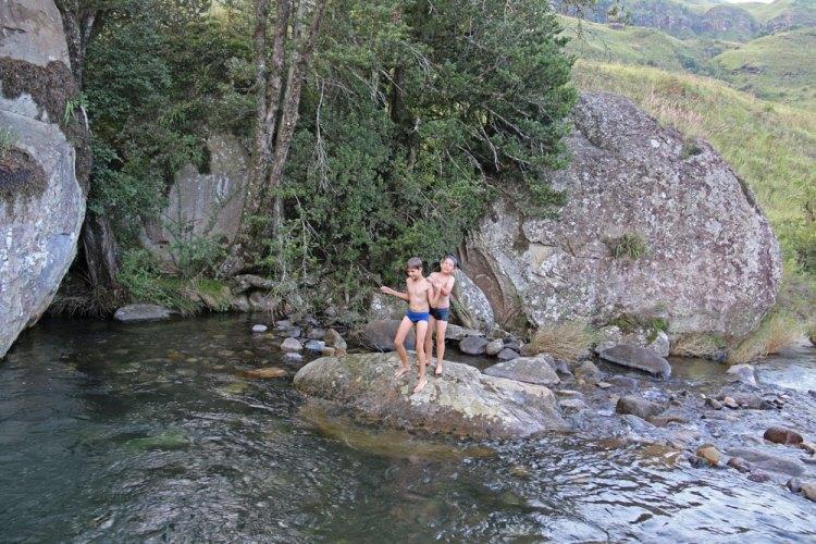 piscine eau de montagne afrique du sud