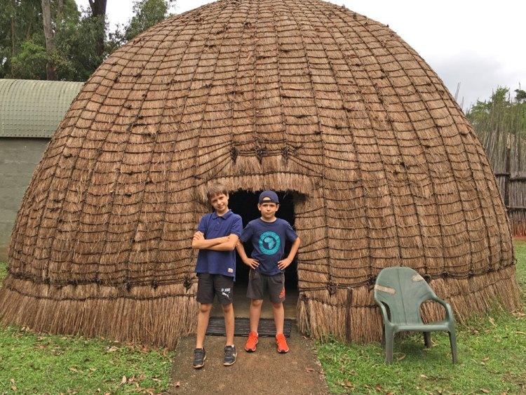 hutte traditionnelle swaziland