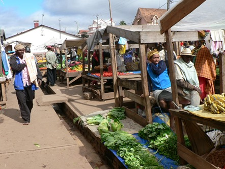 Marché Madagascar, photo Marine