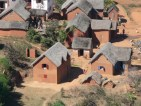 Village Madagascar, photo Marine