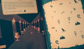 Escape game livre Egypte énigme