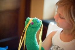 marionnette chaussette pour enfant, photo de Jodimichelle (CC BY-SA 2.0)