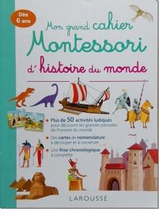 Montessori histoire du monde page principale