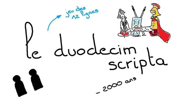 règles du jeu duodecim scripta